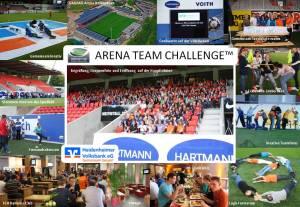 ARENA TEAM CHALLENGE in Voith-Arena Heidenheim -  Volksbank